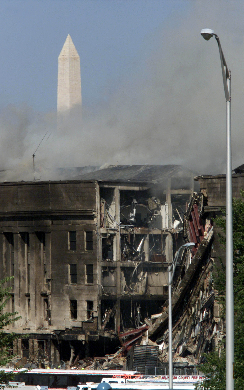 9/11 Attack Photos Inside Pentago