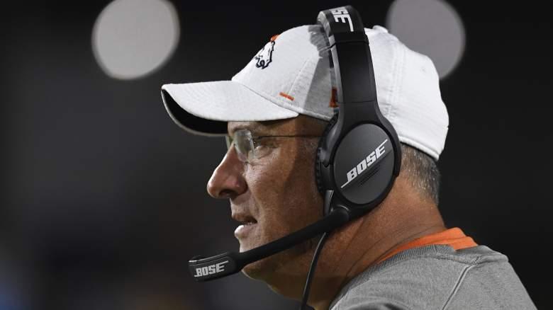 Denver Broncos head coach Vic Fangio