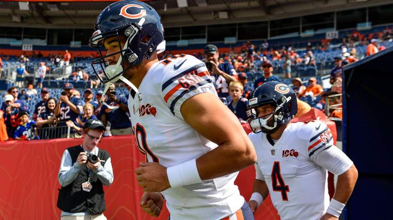 Chicago Bears Mitch Trubisky Chase Daniel injury