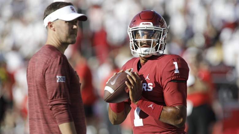 Jalen Hurts Lincoln Riley