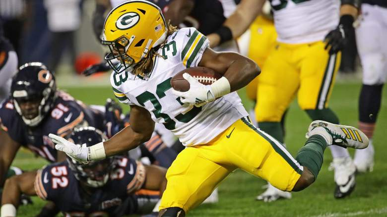 Aaron Jones Fantasy Week 2
