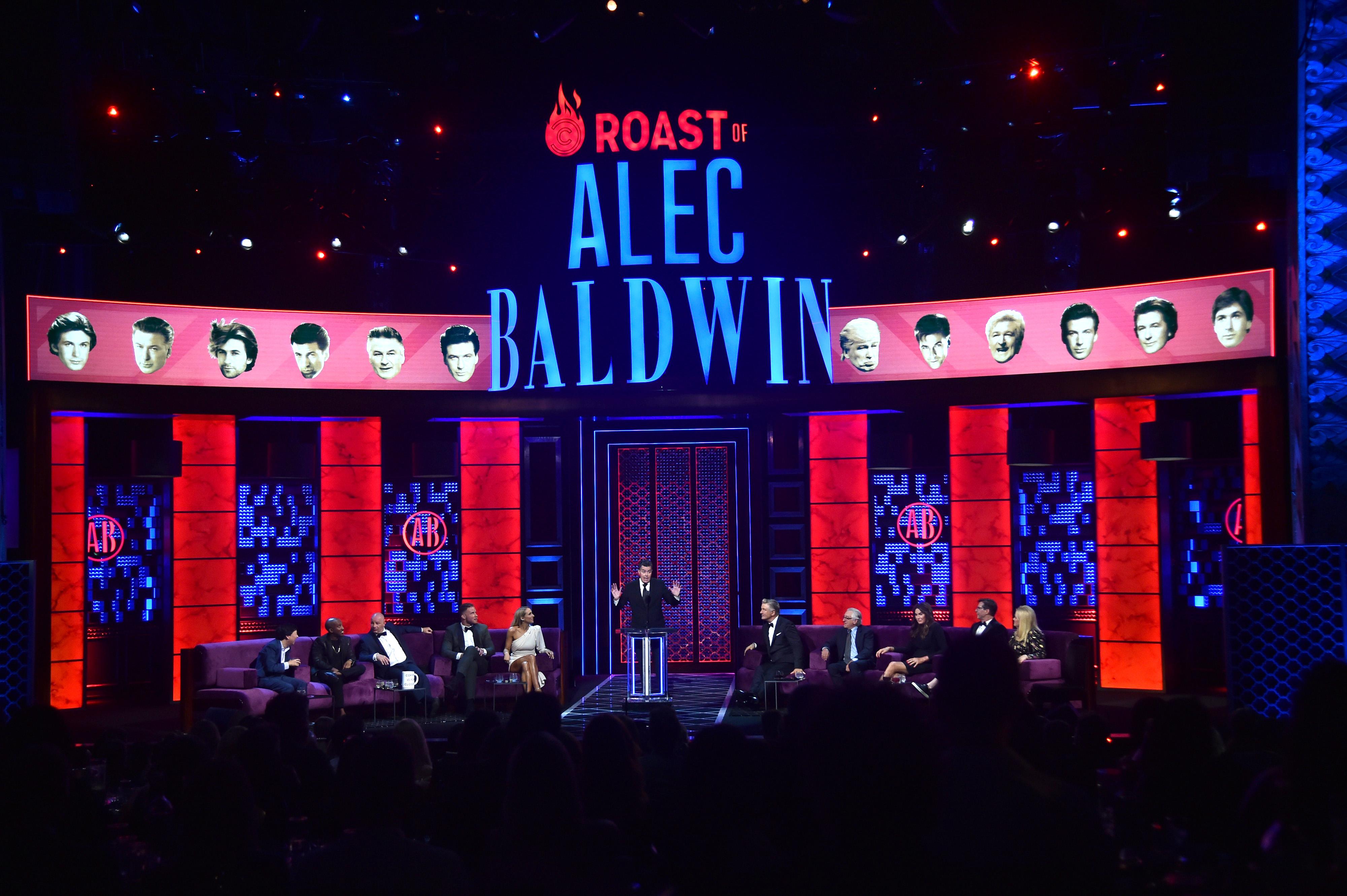 Alec Baldwin Roast Dais