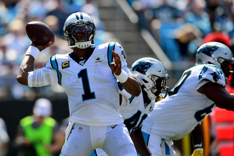 Cam Newton and the Panthers look to get back on track as they face the Buccaneers tonight at home.