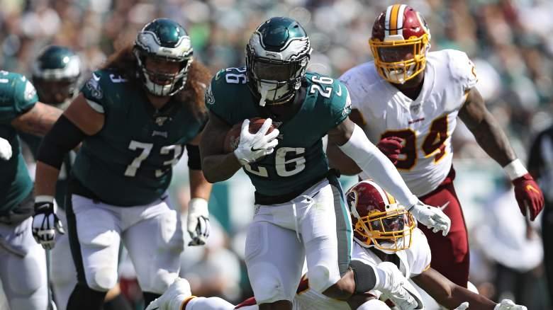 Philadelphia Eagles Running back Miles Sanders