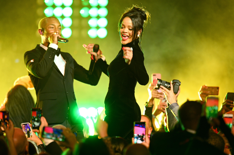 Rihanna Pharrell Williams