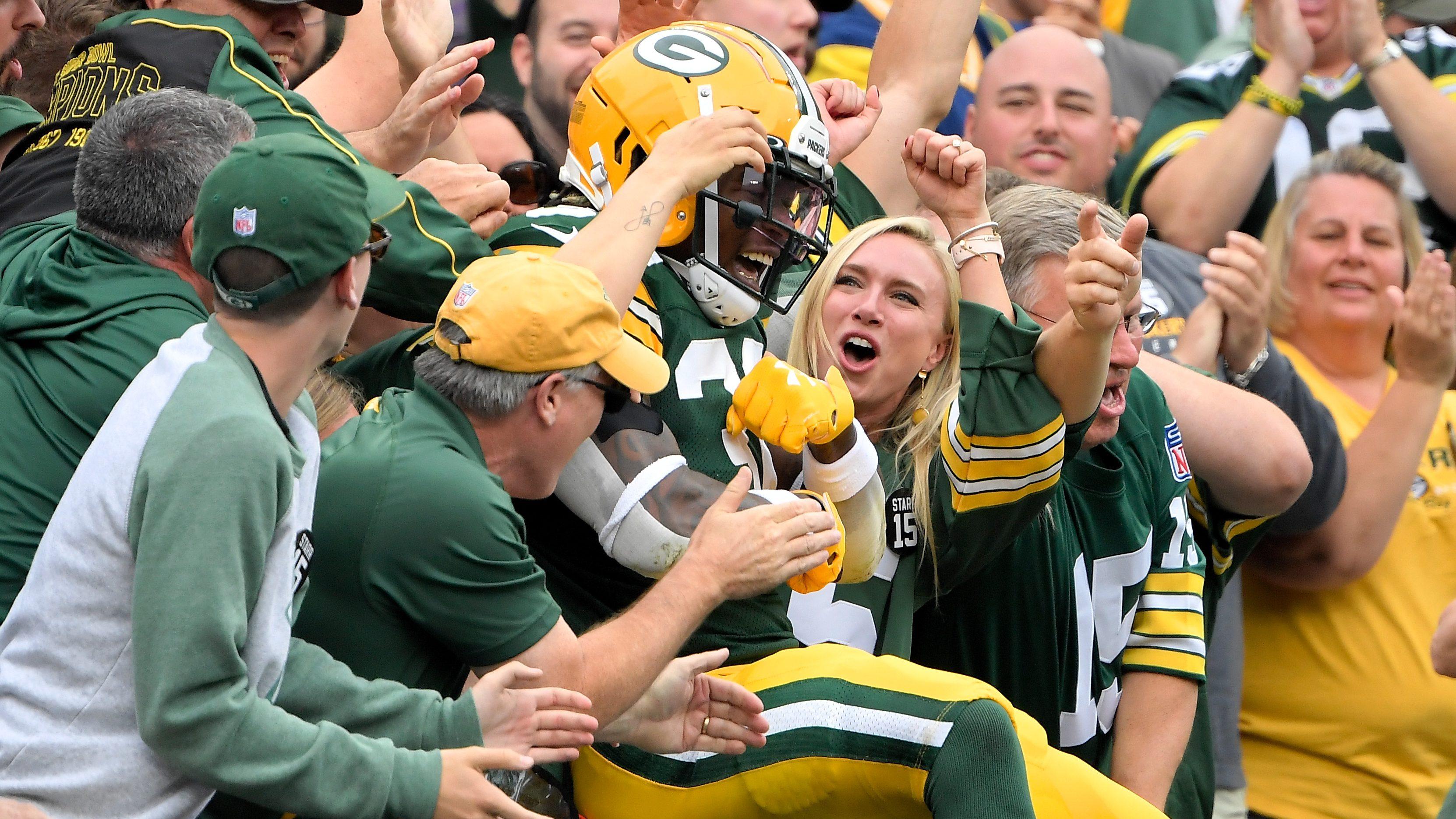 Jamaal Williams Fantasy: Start or Sit Packers RB in Week 3?   Heavy.com