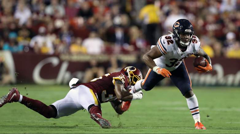 Bears running back David Montgomery