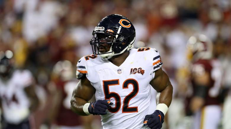 Chicago Bears linebacker Khalil Mack poop