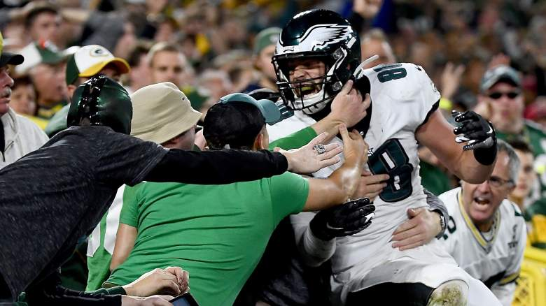 Packers Eagles Fight Fans Arrested