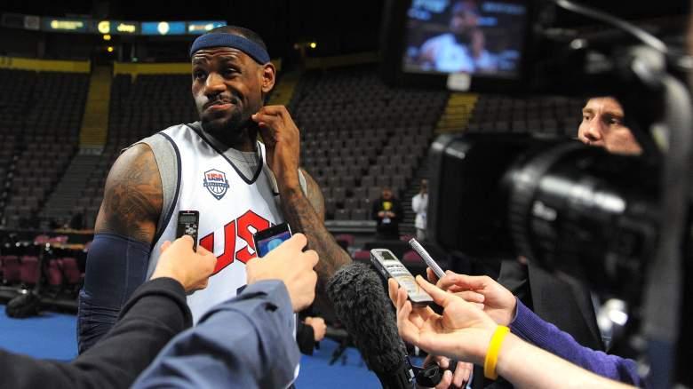 LeBron James, Team USA
