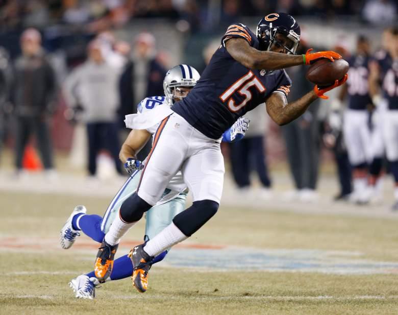Former Chicago Bears wide receiver Brandon Marshall