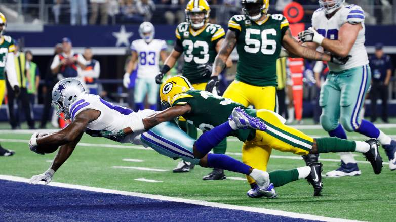 Dez Bryant No on Packers 2