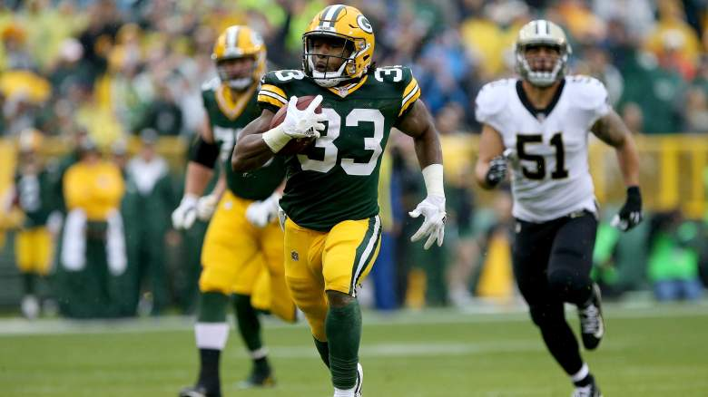 Aaron Jones Start Sit Week 1