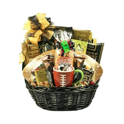Gifts to Impress Gridiron Football Gift Basket