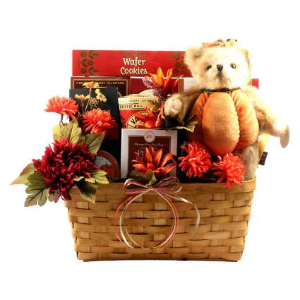 Gobble Gobble Thanksgiving Themed Gift Basket