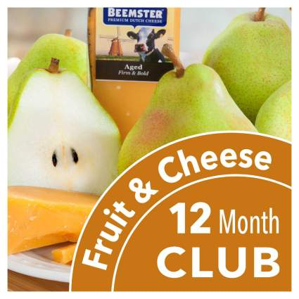 Golden State Fruit Monthly Fruit and Cheese Club - 12 Months