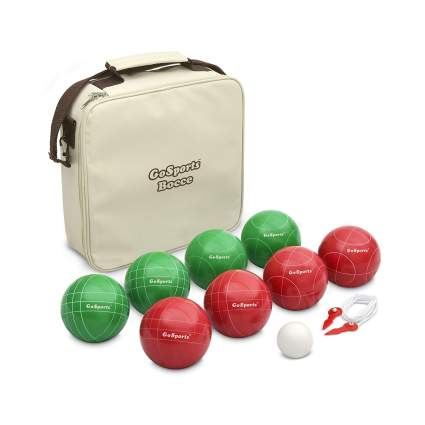 GoSports 100mm Regulation Bocce Set