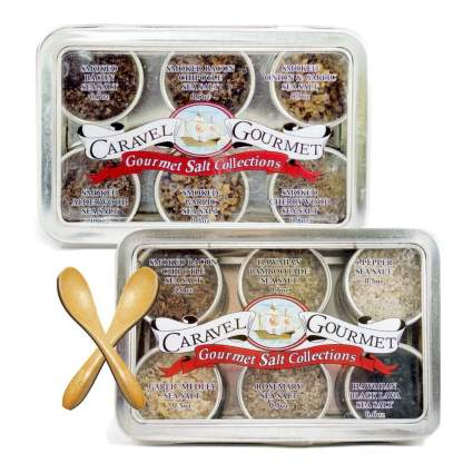 Gourmet Sea Salt Sampler Infused and Smoked 2-Pack