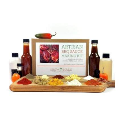 Grow and Make DIY Artisan BBQ Sauce Making Kit