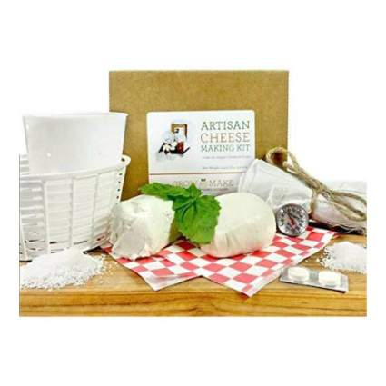 Grow and Make DIY Artisan Cheese Making Kit