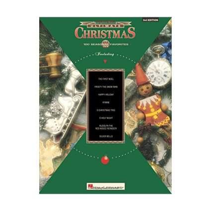 hal leonard ultimate christmas sheet music