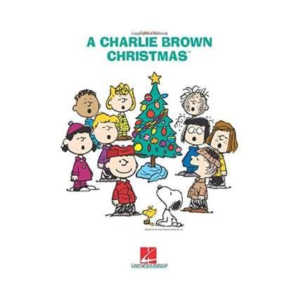 a charlie brown christmas sheet music