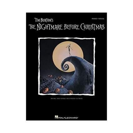 nightmare before christmas sheet music
