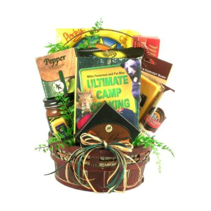Happy Camper Camping Themed Gift Basket