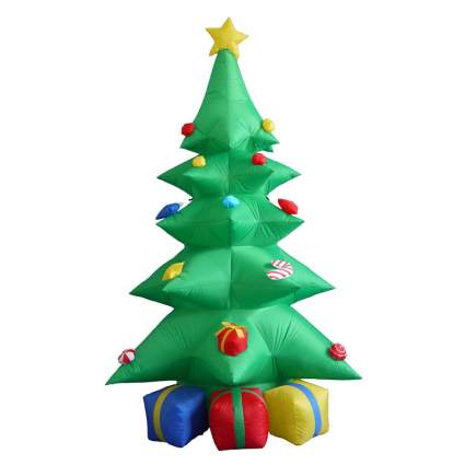 inflatable tree commercial christmas decorations