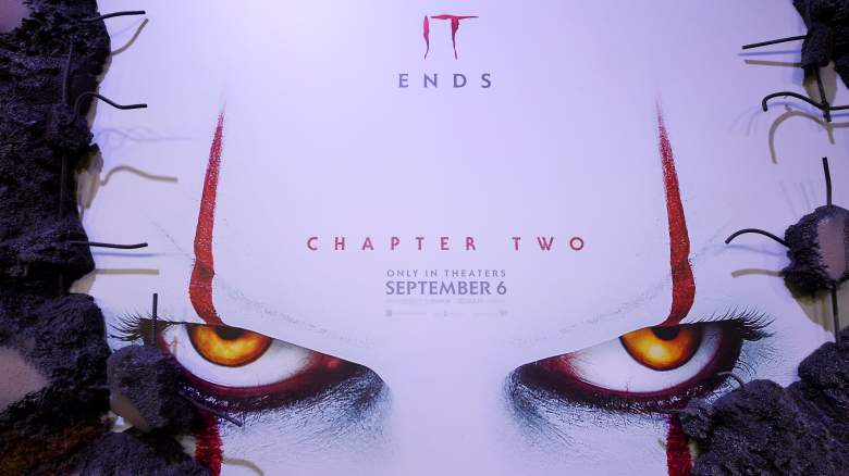 Pennywise's Eyes On A It Chapter Two Promotional Image