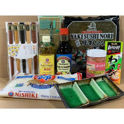 Japanese Sushi Complete Making Kit
