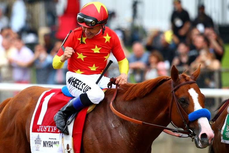 Justify became the 13th horse to win the Triple Crown with his win at the Belmont Stakes in June of 2018.