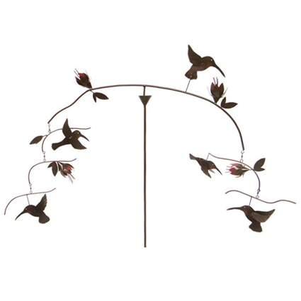 kinetic hummingbird sculpture