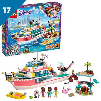 lego friends missionboat