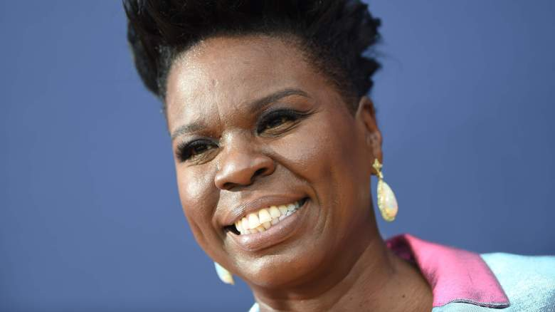 Leslie Jones attends Emmy Awards