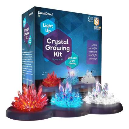 Light-up Crystal Growing Kit for Kids