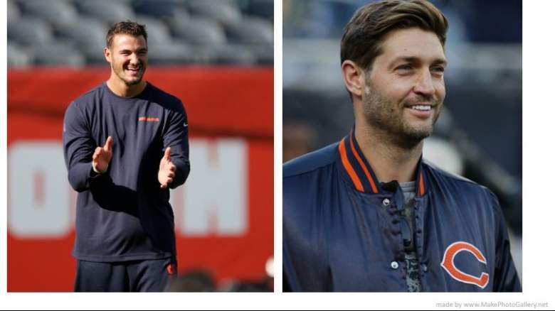 Mitchell Trubisky and Jay Cutler