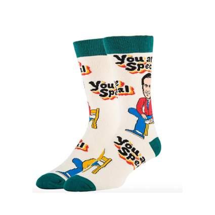 Mr. Rogers' mens socks