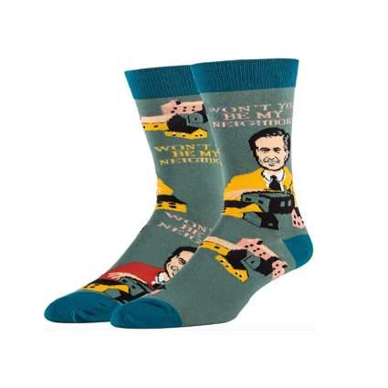 mr rogers neighborhood socks