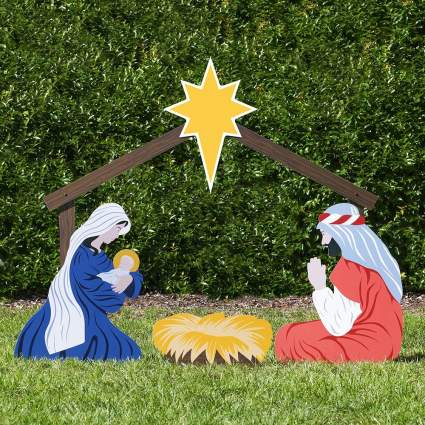 nativity commercial christmas decorations