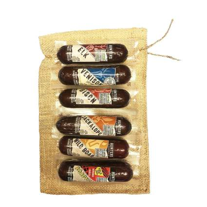 Newport Jerky Company Exotic Summer Sausage 6-Pack Gift Bag