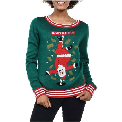 north pole funny christmas sweater