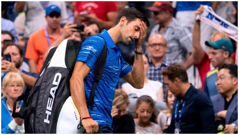 Novak Djokovic Booed US Open