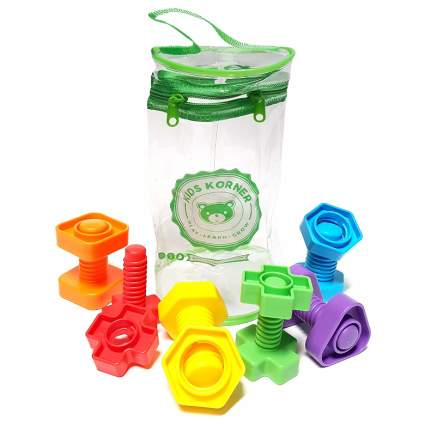 nuts and bolts toddler toy
