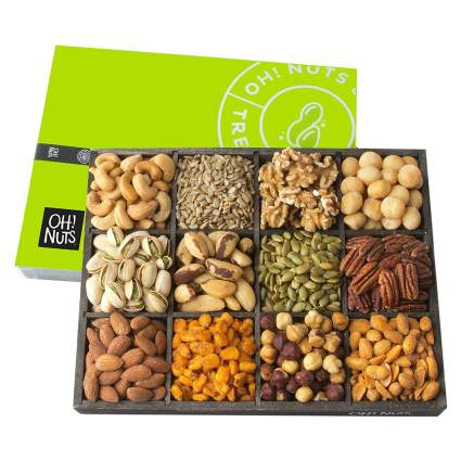 Oh Nuts! Mixed Nut Gift Basket
