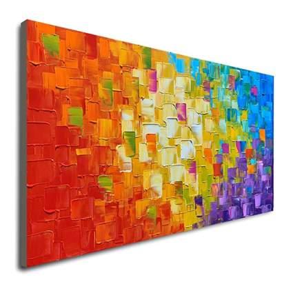 oil on canvas wall art