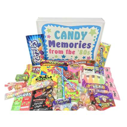 Old School 80s Candy Gift Box