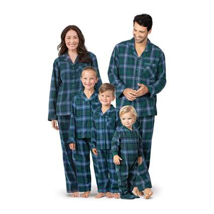 pajamagram tartan plaid matching christmas pajamas