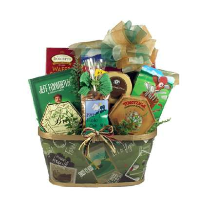 Par-Tee On Golf Themed Gift Basket