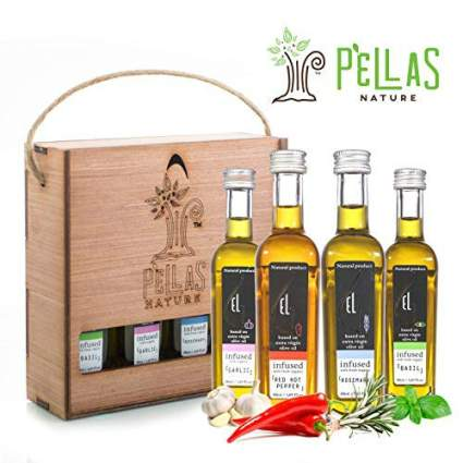 Pellas Nature Organic Herb Infused Olive Oil Set